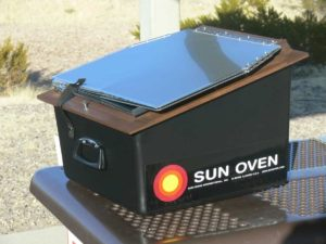 solar stoves and ovens
