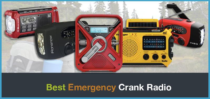 Top 5 Best Emergency Crank Radio Reviews: Survival Radios 2018